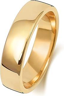 Anello Fede Nuziale Uomo/Donna 5mm in Oro giallo 18k (750) WJS1894218KY