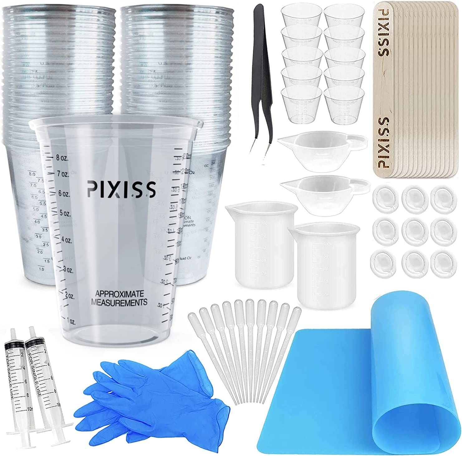 Disposable Measuring Cups Columbus Mall for Resin - Pack 20 Sales for sale 10oz Pixiss of Cle