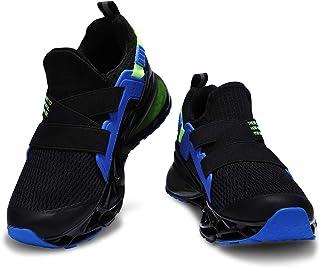 Deevike Basket Enfants Garçon Fille Chaussures de Sport Respirantes Sneakers 29-38EU