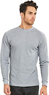 Cottonbell Men's Classic Waffle-Knit Heavy Thermal Top