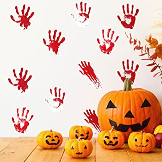 HALLOWEEN PARTY SPOOKY WALL, WINDOW, DOOR PVC STICKERS FOR HOME DECOR
