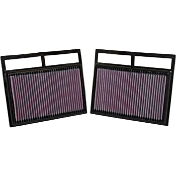 K/&N Engine Air Filter: High Performance SL600, S600, 600SEL, 600SL, 600SE Premium Panel Replacement Filter: 1991-2002 Washable 33-2677
