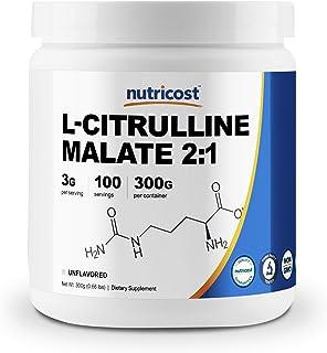 Nutricost L-Citrulline Malate (2:1) Powder (300 Grams)