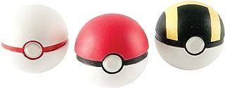 Pokemon Throw 'N' Catch Poké Ball 3 Pack