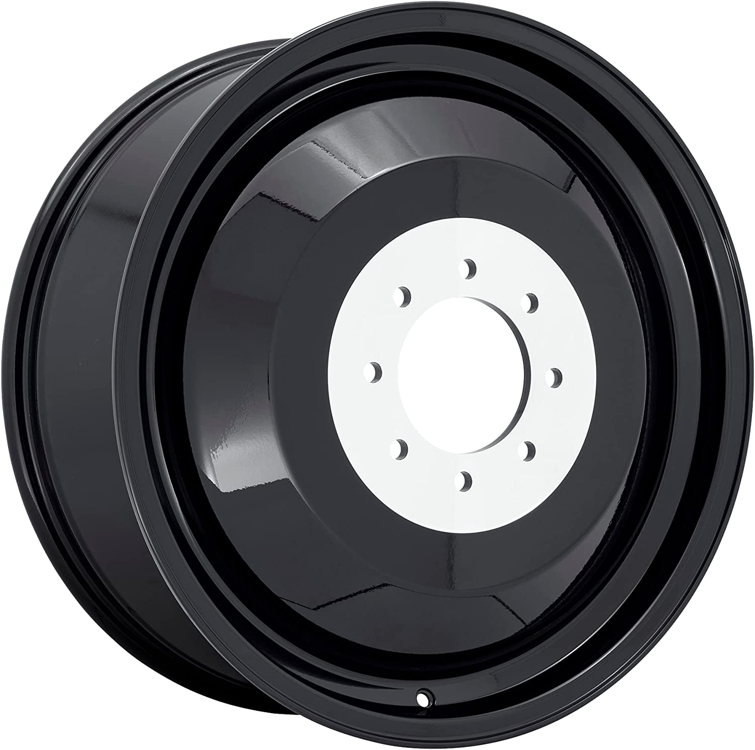 Fuel Many popular brands Dualie Inner black Wheel with x Painted 22 8.25 inc Finish Tulsa Mall