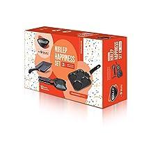 Nirlep by Bajaj Electricals 3-Piece Non-Stick Breakfast Gift Set
