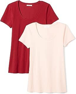 Amazon Brand - Daily Ritual Women's Stretch Supima Short-Sleeve Scoop Neck T-Shirt