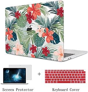 tropical macbook case