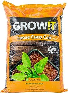 Grow!T Premium Coco Coir, Loose 1.5 Cubic Foot Bag