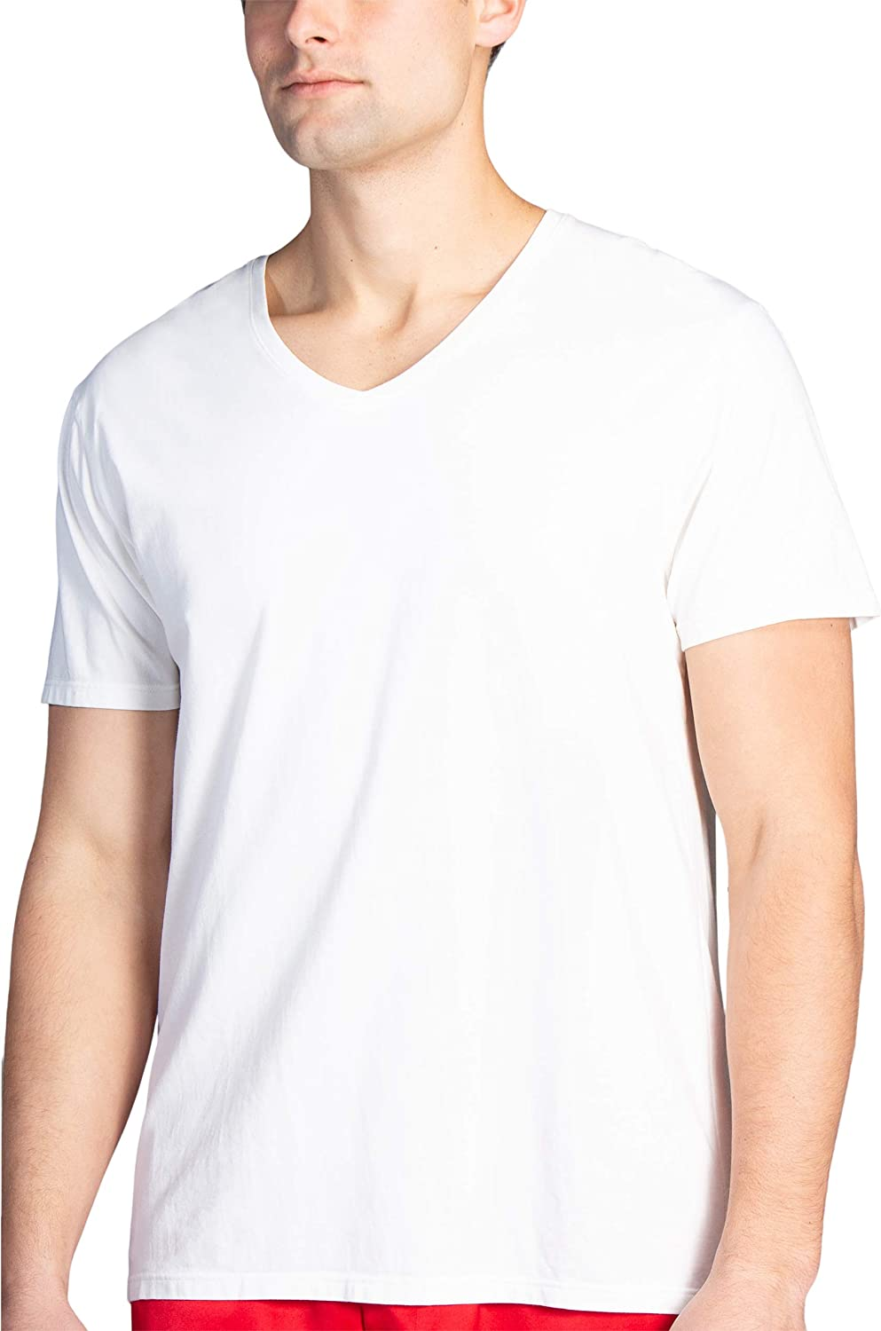 Fishers Finery Max 75% OFF Men's Classic Arlington Mall V-Neck Tucked Soft Keep Comfort Und