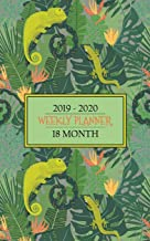 18 Month Weekly Planner 2019 -2020: Colorful Chameleons and Geckos will keep you smiling while you stay organized for a full 18 months. Keep your schedule on track! (Lizard Lovers Planner)