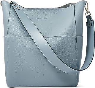 BOSTANTEN Leder Damen Handtasche Schultertasche Umhängetasche Designer Tasche Groß