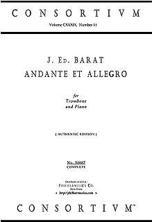 ANDANTE ET ALLEGRO for Trombone and Piano (authentic edition) (Consortium 31687)