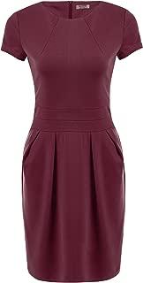 Women's Work Dress Official Wear to Work Retro Business Bodycon Pencil Dress