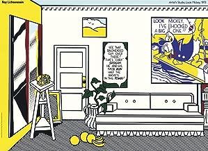 Edward Kurstak Gallery Artists Studio Look Mickey,Unsigned by Roy Lichtenstein