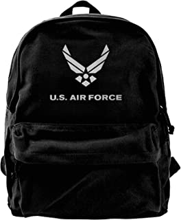 Us Army Veteran Lightweight Canvas Backpack Multi-Pockets Daypack Satchel Fashion Campus Backpack Bookbag For Sport Travel