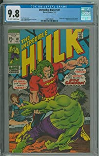 INCREDIBLE HULK #141 CGC 9.8 OW/WH PAGES