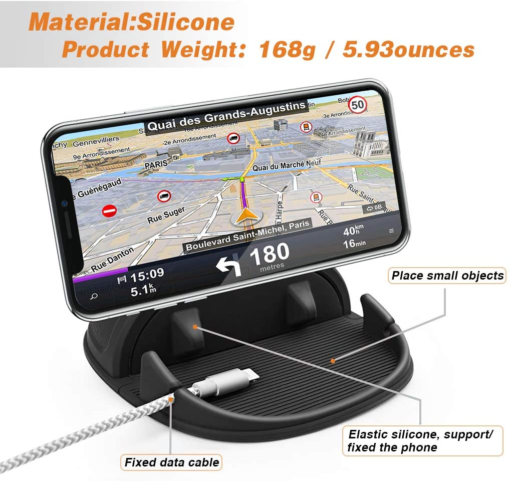 Loncaster Dashboard pad phone mount