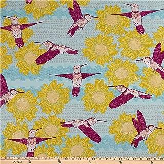 FreeSpirit Murmur In Flight Sun Fabric by the Yard