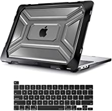 MOSISO MacBook Pro 13 inch Case 2020 Release A2338 M1 A2289 A2251, Heavy Duty Plastic Hard Shell Case with TPU Bumper&Keyb...