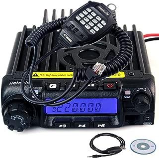 Retevis RT-9000D VHF Mobile Radio Transceiver 220-260MHz 60W 50 CTCSS 1024 DCS Car Mobile Radio 200CH Amateur Ham Radio Transceiver (1 Pack)
