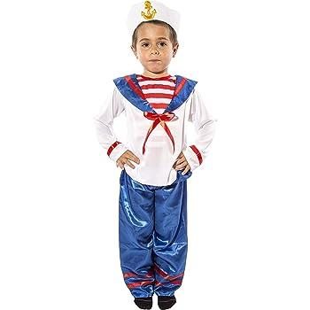 Costumizate! Disfraz de Marinero para niño Talla 3-4 Especial para ...