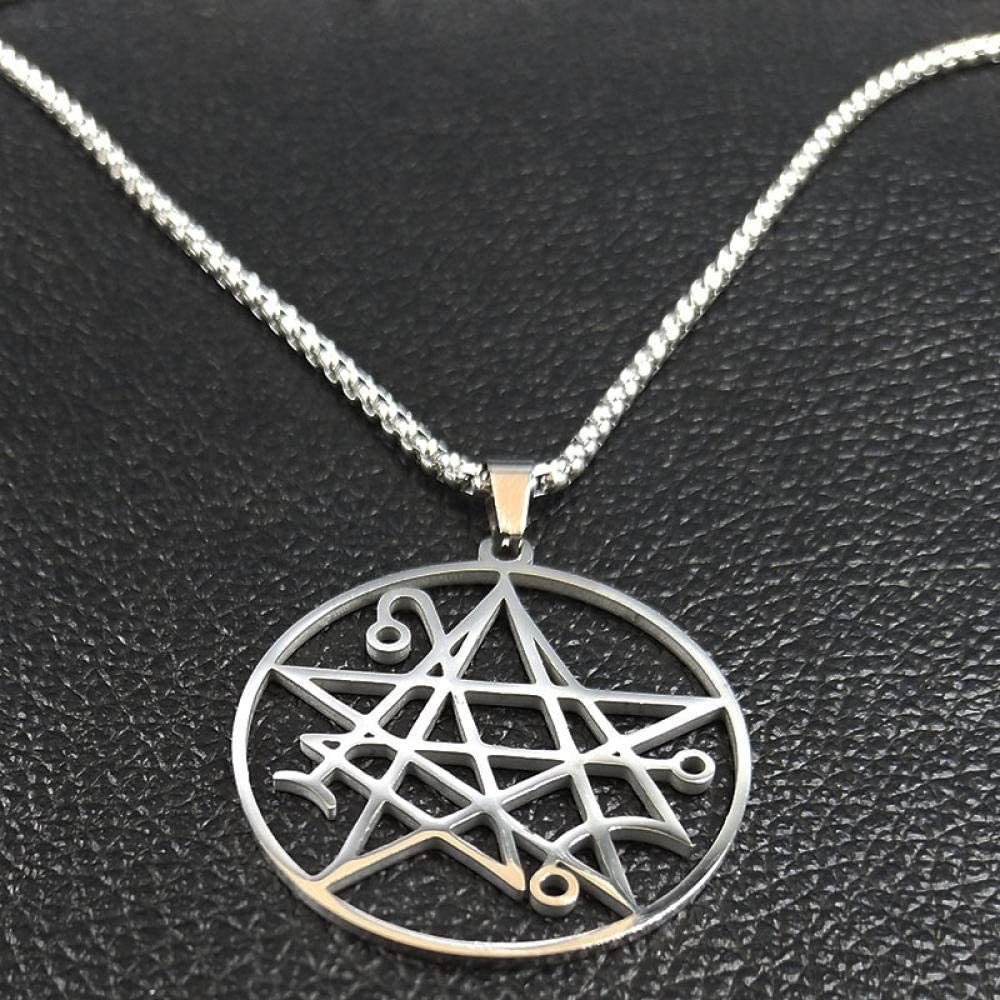 Necklace Pendant 35% Max 76% OFF OFF Stainless Steel Satanic Je Men