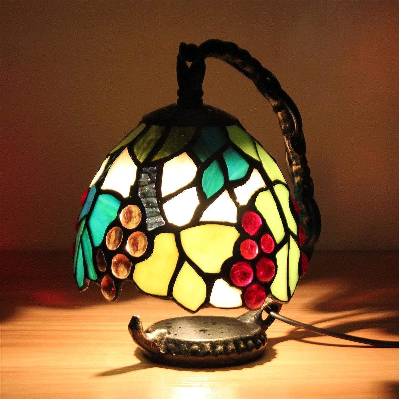 JZQ Tischlampe Nordic Home Einfache Farbe Dekorative Tischlampe Wohnzimmer Schlafzimmer LED Nachtlicht Nachttischlampe (Gre   Grün)