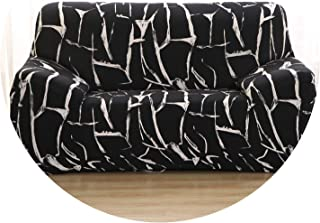 Cross Pattern Elastic Sofa Cover Tight Sectional Slipcover Wrap All-Inclusive Loveseat Corner Sofa Cover cogines para Sofa 1pc,Color 5,1-seat 90-140cm