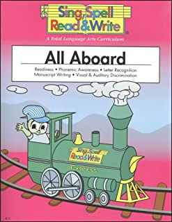 ALL ABOARD, STUDENT EDITION, SING SPELL READ AND WRITE