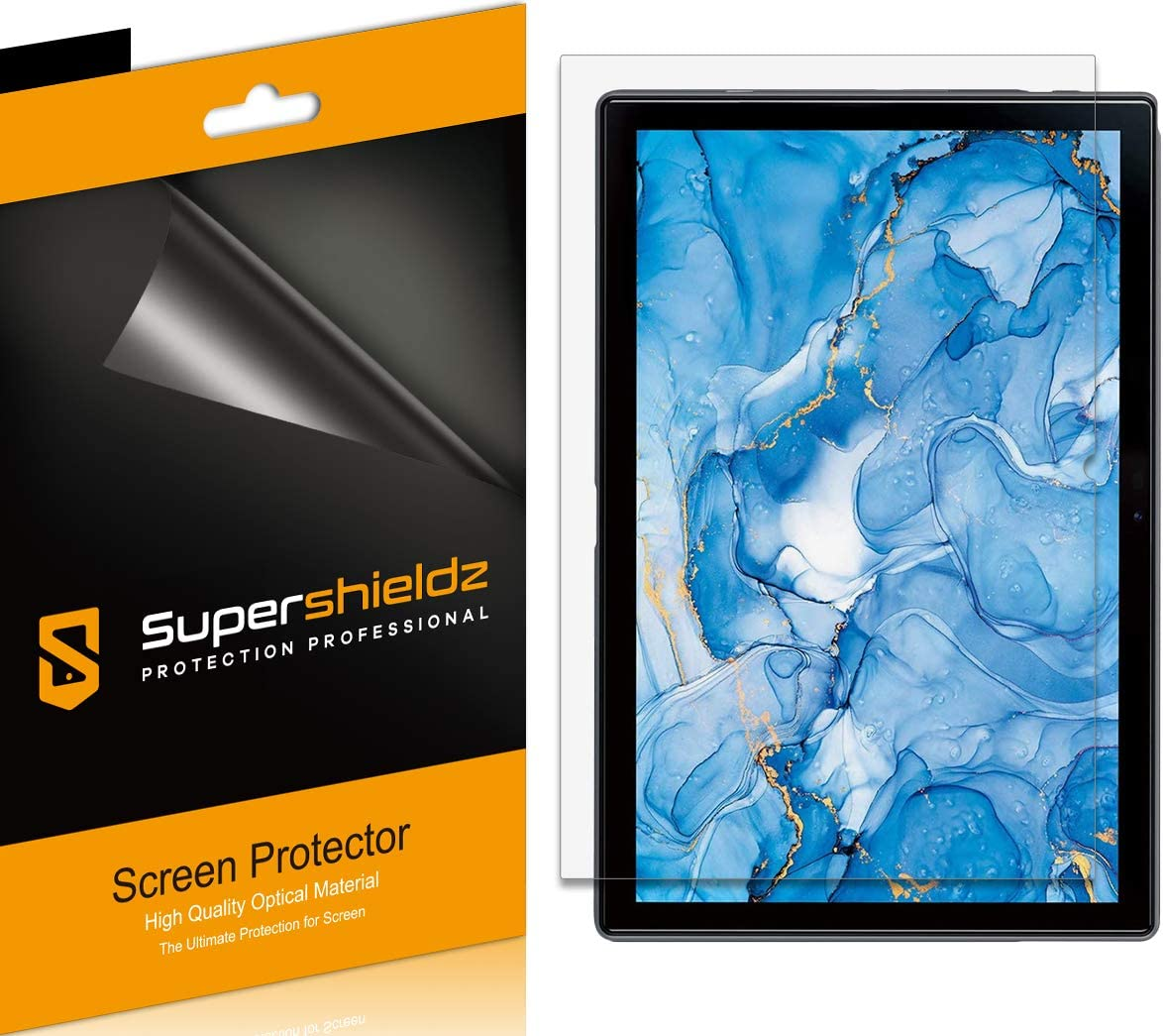(3 Pack) Supershieldz Designed for Dragon Touch Notepad 102 (10 inch) Screen Protector, High Definition Clear Shield (PET)