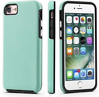 CellEver iPhone 7/8 Case, Dual Guard Protective Shock-Absorbing Scratch-Resistant Rugged Drop Protection Cover for iPhone 7/8 (Mint)