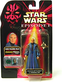 Star Wars Episode I: The Phantom Menace, Chancellor Valorum Action Figure, 3.75 Inches