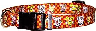 """طوق للكلاب واكي دوغز من يلو دوج ديزاين مع بطاقة تعريف الهوية Medium 14"""" - 20"""" WD104"""