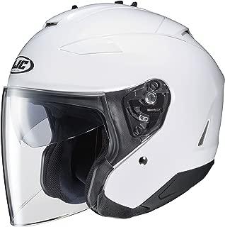 HJC IS-33 II Open-Face Motorcycle Helmet (White, X-Large)