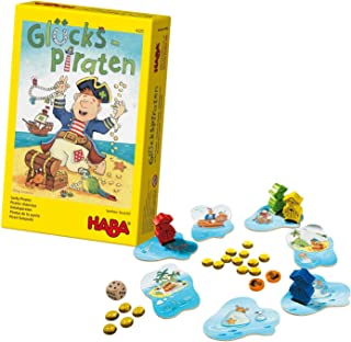 HABA Lucky Pirates - an Adventurous Dice Game for Ages 4 and Up (Made in Germany)