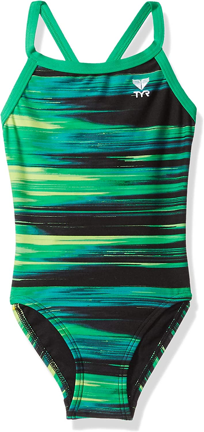 TYR Girls' Lumen Diamondfit Swimsuit