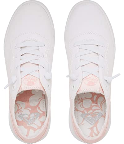 Roxy Cannon (White/Light Pink) Women