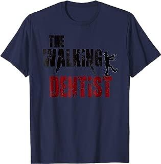 Dentist gift t shirts, Zombie teeth walking funny Doctor tee