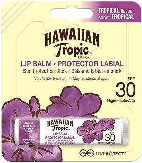 Hawaiian Tropic Lip Balm - Bálsamo Protector Solar de Labios SPF 30  Sabor Tropical  4 gr