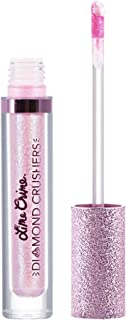 Lime Crime Diamond Crushers Iridescent Liquid Lip Topper, Choke - Cloud Pink-Blue - Strawberry Scent - Enhances Mattes - For Face And Body - Wear Alone Or Over Lipstick - Vegan