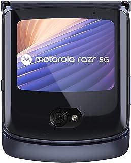 Moto Razr 5G,8GB RAM, 256GB Internal Memory, Dual SIM - Polished Graphite