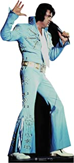SC240 Elvis Presley Blue Jumpsuit Cardboard Cutout Standup