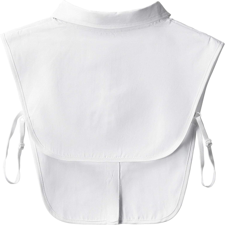 Lapel Cotton Half Blouse Choker for Girls and Women Moonhey Detachable Shirts Fake Collar