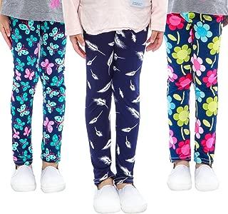Printing Flower Girl Leggings Kids Classic Pants 4-13Y