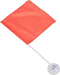 Seachoice 78349 Nylon Skier Down Flag with Suction Cup – 24 Inch Pole – Conforms to State Laws in AZ,  CA,  CO,  ID,  MO,  NE,  NM,  OR,  TX,  UT and WA