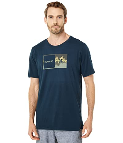 Hurley Double Up Glitch Short Sleeve T-Shirt