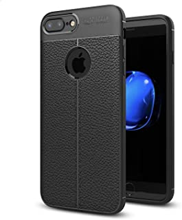 Case for iPhone 7 plus/iPhone 8 plus Soft Silicone Shock Proof Case with Anti-Slip TPU Design Protection Cover for iPhone ...