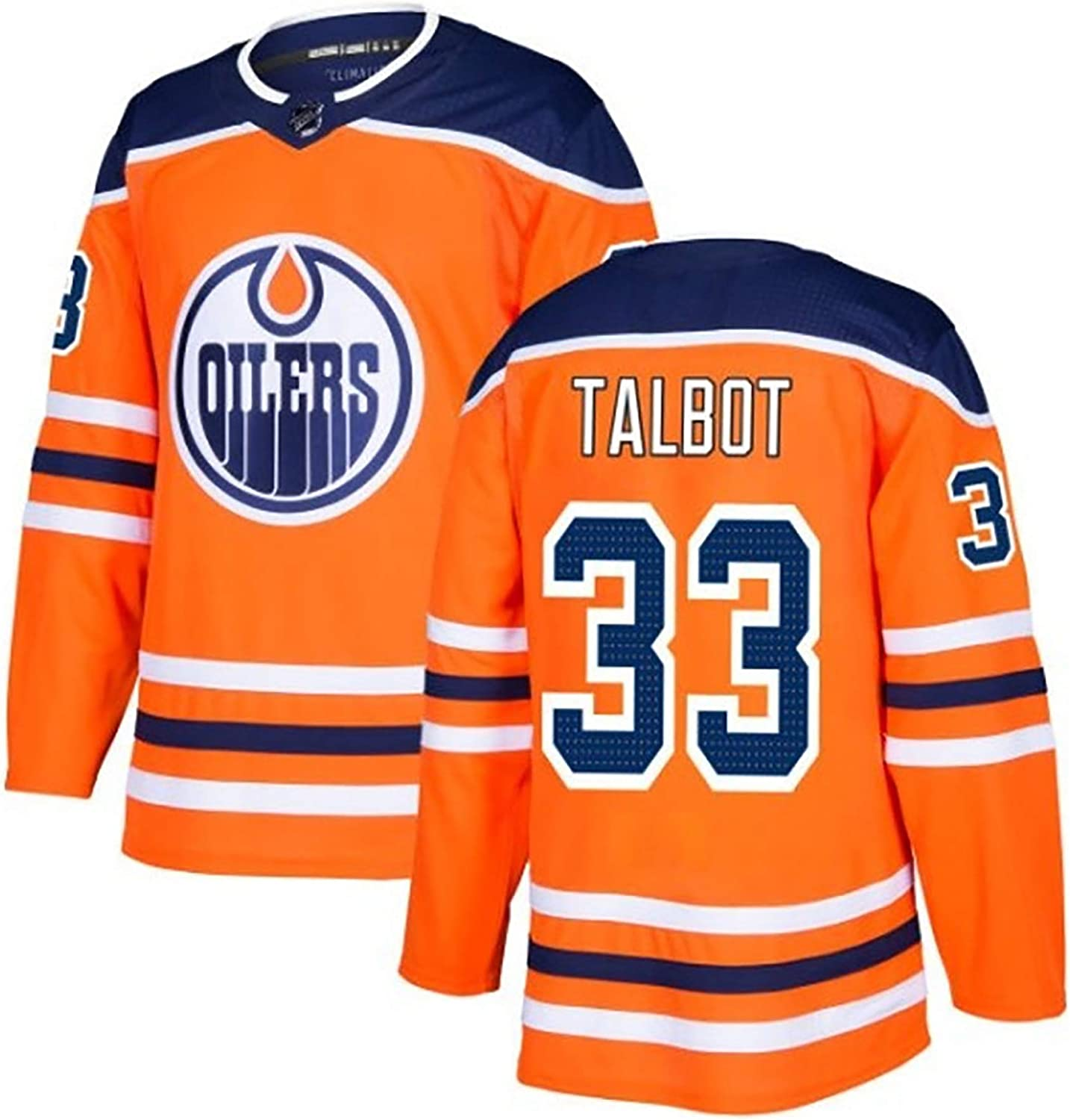 Mens Hockey Jersey Quality Assurance First Choice for Gifts Oilers TALBOT33 DRAISAITL29 GRETZKY99 LUCIC27 Embroidery Jersey