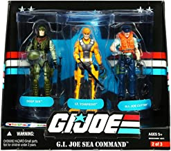 G.I. Joe 25th Anniversary: Sea Command Exclusive Boxed Action Figure 3-Pack: Deep Six, Lt. Torpedo and G.I. Joe Cutter